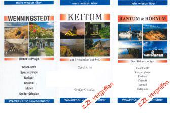 Sylt Reiseführer Wenningstedt, Keitum, Rantum & Hörnum