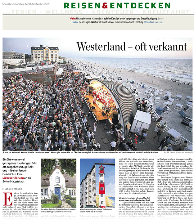 HH-Abendblatt-12-13-Sept-15-Westerland