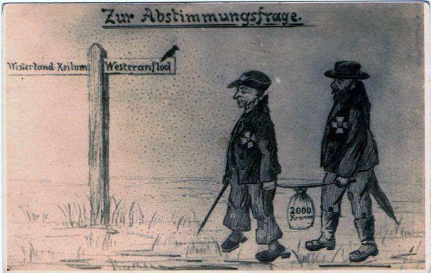 Abstimmung nach dem 1.Weltkrieg über die Zugehörigkeit Sylts zu deutschland oder Dänemark